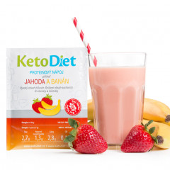 Strawberry and Banana Flavour Protein Drink (7 portions)