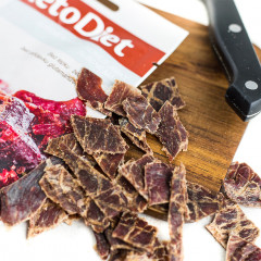 Dried beef Jerky (3 portions)