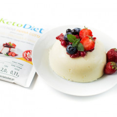 Cream and Vanilla Flavour Protein Panna Cotta (7 portions)