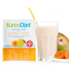 Apricot and Mango Flavour Protein Drink (7 portions)