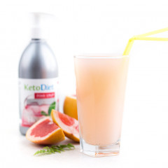 Sugar Free Pink Grapefruit Flavour Syrup (500 ml - 40 portions)