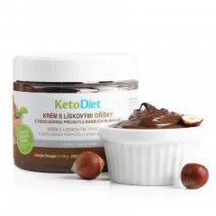Protein Cream with Hazelnuts (250 g - 10 portions)