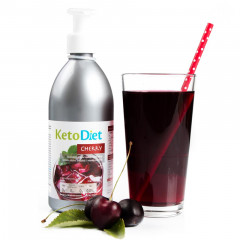 Sugar Free Cherry Flavour Syrup (500 m - 40 portions)