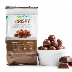 CRISPY Protein Balls with Milk-chocolate Flavour (1 portion)