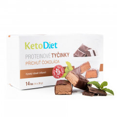 Chocolate Flavour Protein Bars (14 pieces - 7 portions)