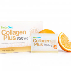 KetoDiet Collagen Plus 5,000mg - orange flavour