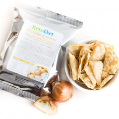 Sour Cream and Onion Flavour Protein Crisps (1 portion)