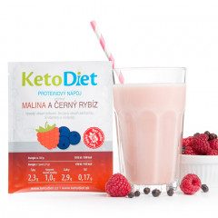 Raspberry and Blackcurrant Flavour Protein Drink (7 portions)