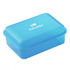 Blue lunch box
