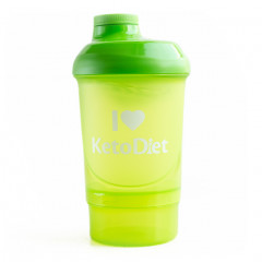 Green stylish shaker (300 ml) )