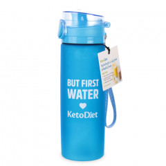 Blue Trendy Water Bottle (600 ml)