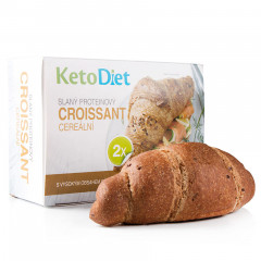 Salty protein croissant with cereals (2 pcs – 1 portion)