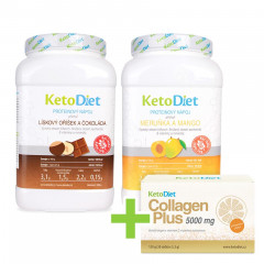 Protein drinks for 2 weeks (70 portions) + Collagen Plus 5000mg FOR FREE