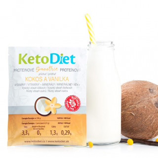 Coconut and Vanilla Flavour Protein Smoothie (7 portions)