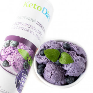Blueberry flavour protein ice cream (20 portions)
