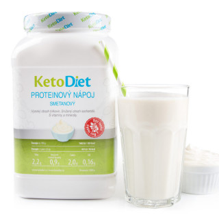 Cream Flavour Protein Drink for 1 Week (35 portions)