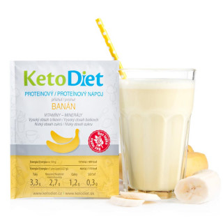 Banana Flavour Protein Drink (7 portions)
