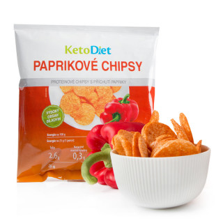 Pepper Flavour Protein Crisps (25 g – 1 portion)