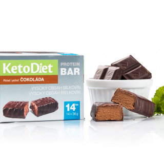 Chocolate Flavour Protein Bars (14 pieces)