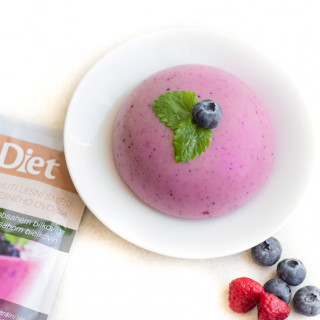 Forest Fruit Flavour Protein Pudding (7 portions)