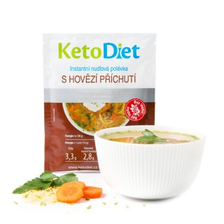 Beef Noodle Protein Soup (7 portions)