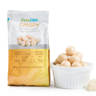 CRISPY Protein Balls with White-chocolate Flavour (1 portion)