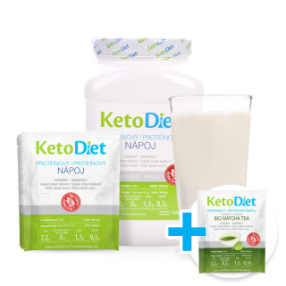 Protein drink for 2 weeks + 7 portions of Matcha Tea Protein drink FOR FREE