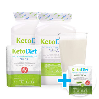 Protein drink for 3 weeks + 7 portions of Matcha Tea Protein Drink FOR FREE