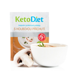 Mushroom Protein Soup (7 portions)