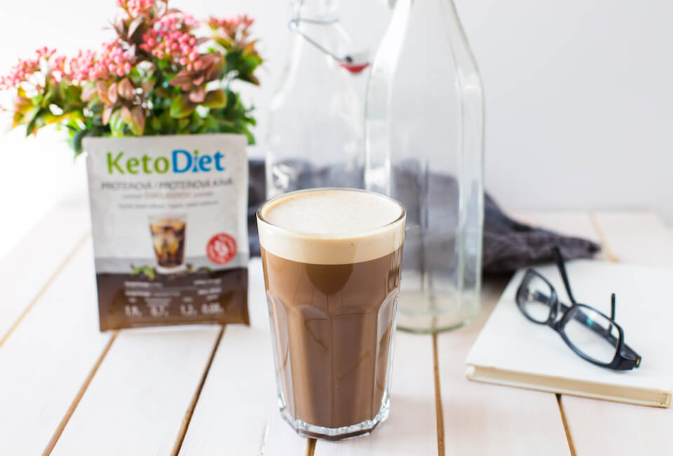 Iced protein coffee KetoDiet