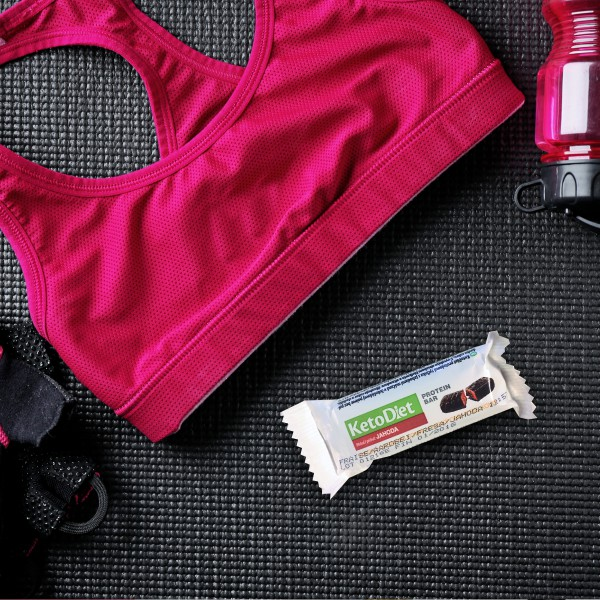 Strawberry Flavour Protein Bars