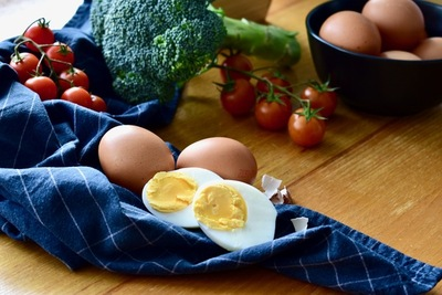 Eggs are a high-quality source of protein with high biological value.