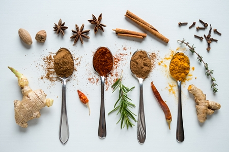 Spicy food helps with weight loss. Have some chilli, turmeric, garlic or ginger