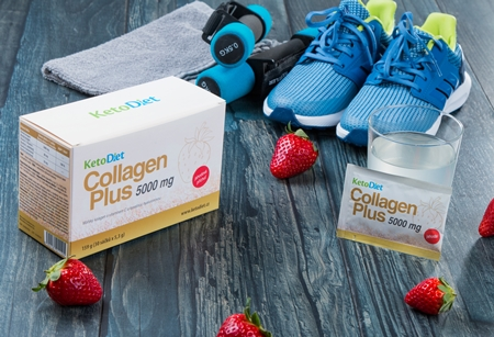 Collagen drink will help you to achieve high quality nails, hair and skin